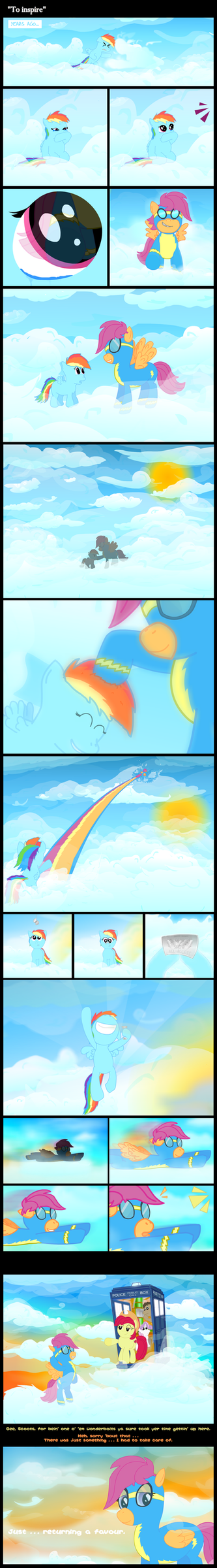 [MLP] - ''To inspire'' by UltraTheHedgetoaster