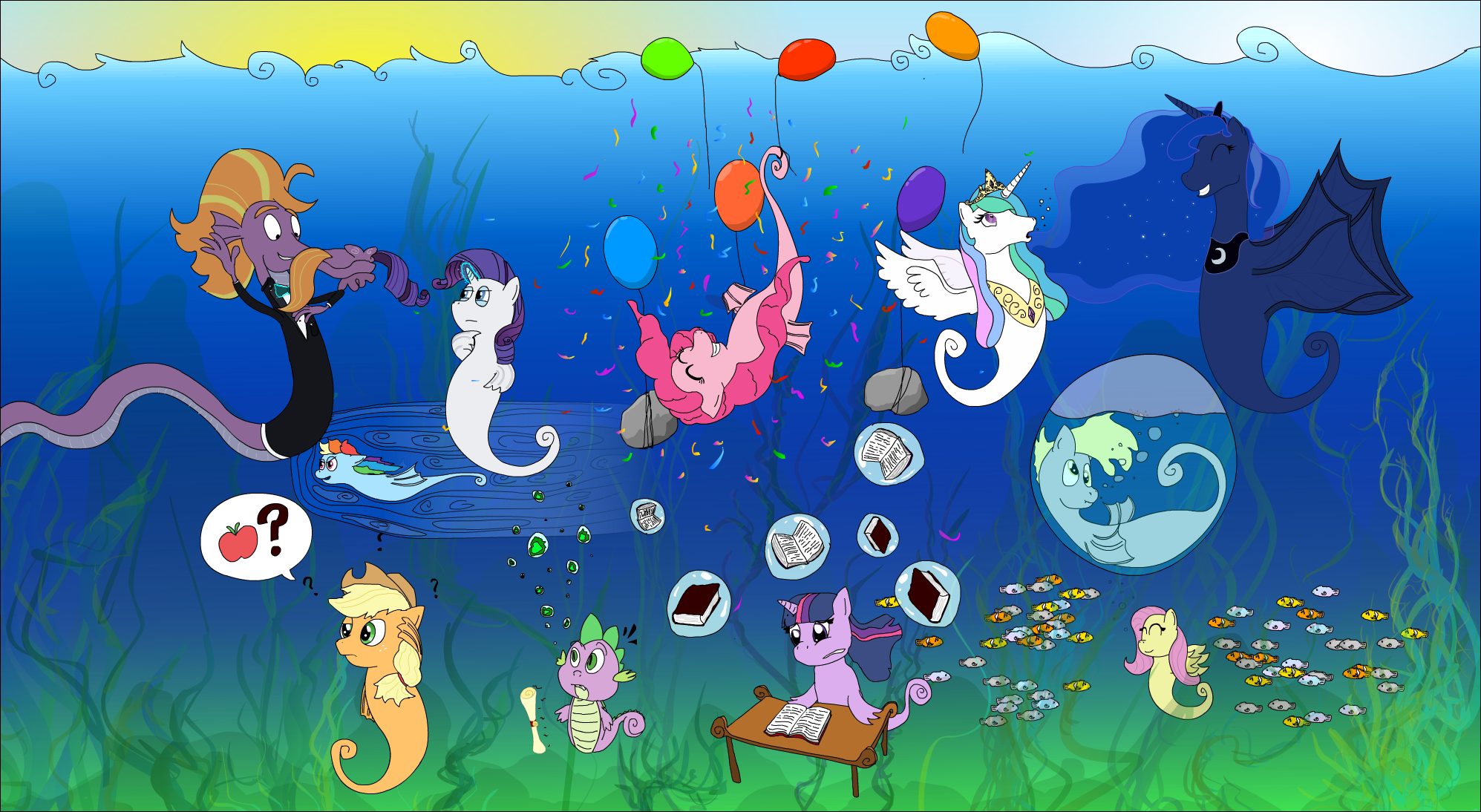 _mlp__seaponies_group_picture_by_ultra_t
