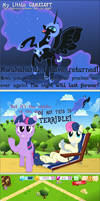 MLP Gameloft: The Difference between Day and Night
