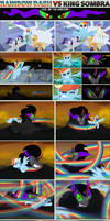 Rainbow Dash VS King Sombra - Evil on the Horizon