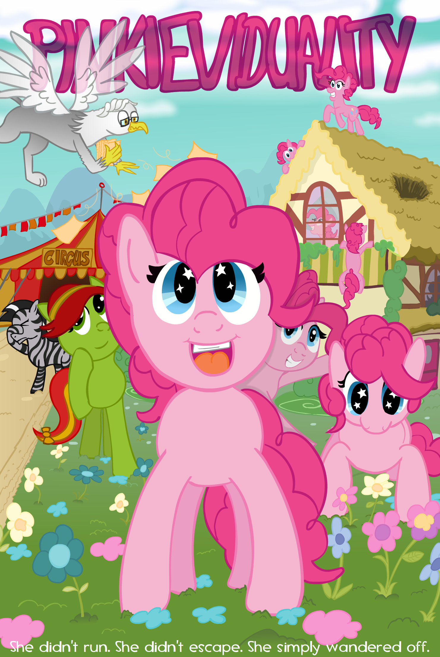 Pinkieviduality (Cover-image) by UltraTheHedgetoaster