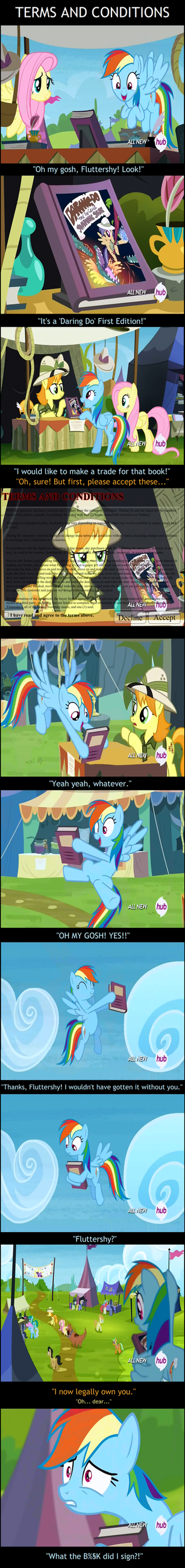 Trade Ya - Terms and Conditions [Screenshot-comic] by UltraTheHedgetoaster