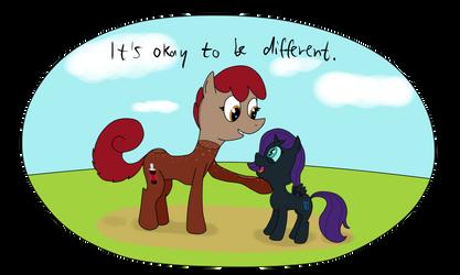 Nyx meets Coke Pony by UltraTheHedgetoaster