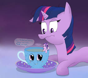 The Great and Powerful Teacup by UltraTheHedgetoaster