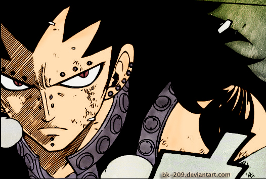 Images à gogo 8) - Page 4 Gajeel_Redfox__by_BK_209