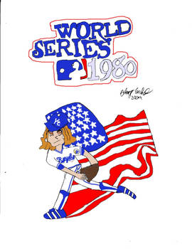 1980 World Series- with Mimete