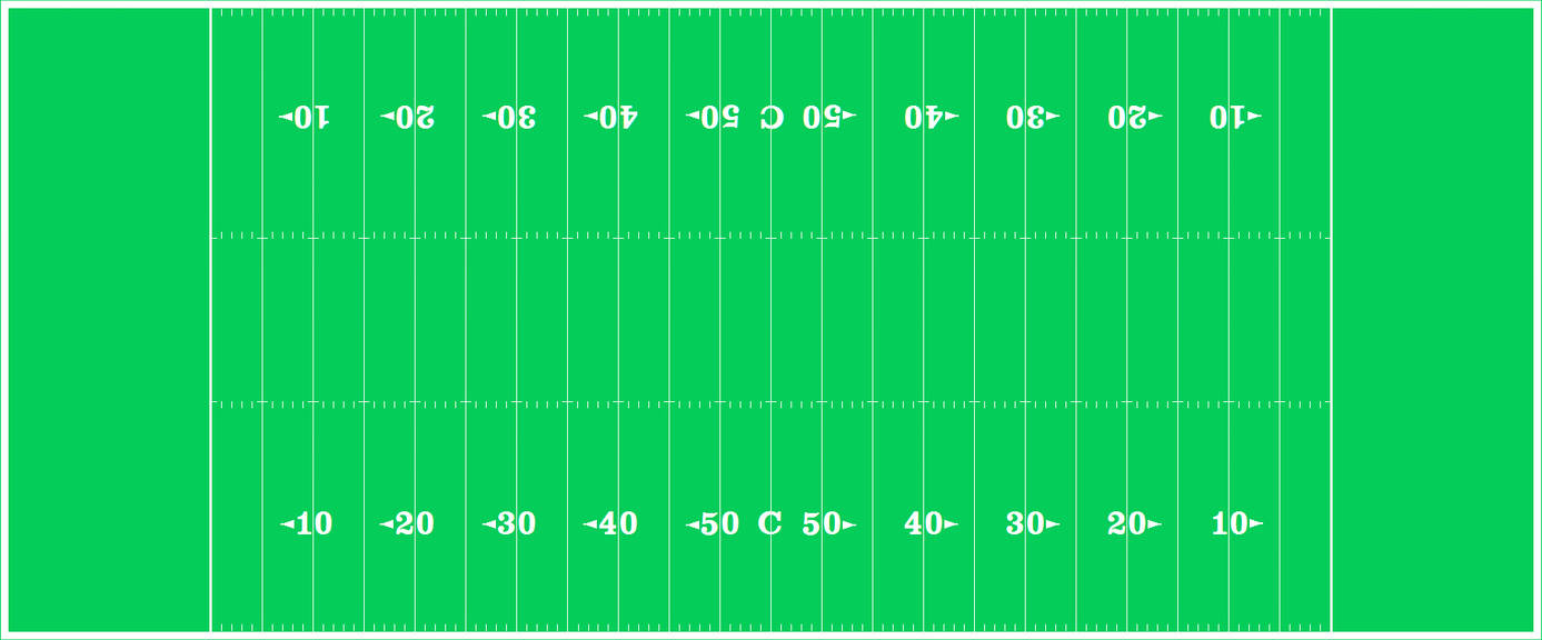 A Canadian Football field diagram by FromEquestria2LA on DeviantArt