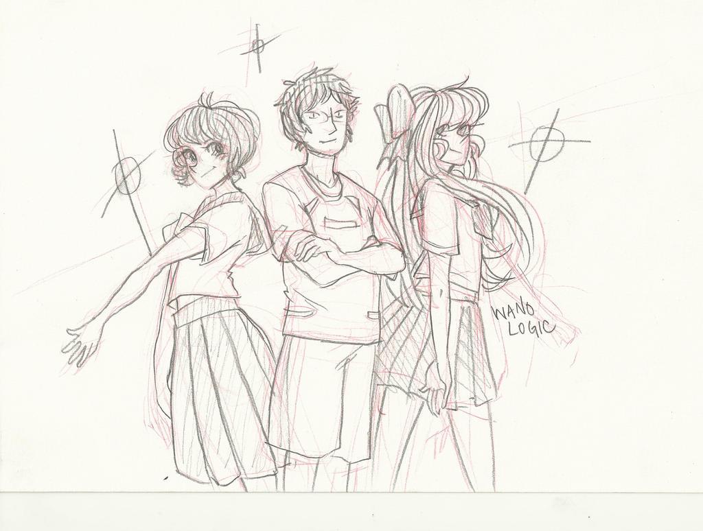 Ami Mizuno, me, and Minako Aino by FromEquestria2LA
