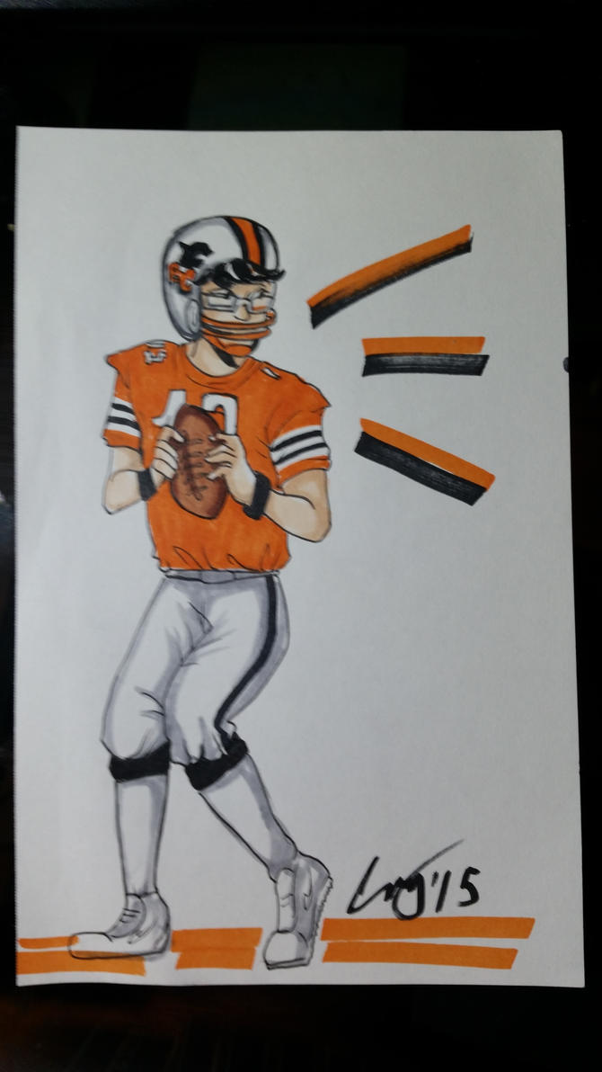 Me, the 1980s BC Lions QB by FromEquestria2LA