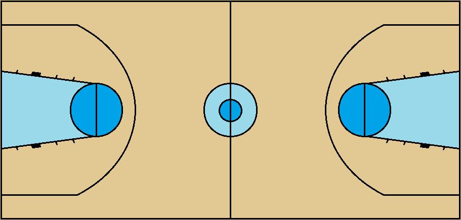 FIBA (international) Basketball court, pre-2010 by FromEquestria2LA