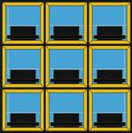 Hollywood Squares original grid (1966-1980)