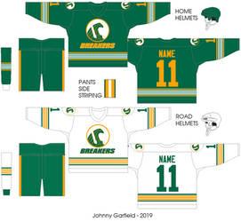 Seattle Breakers uniform concept by FromEquestria2LA