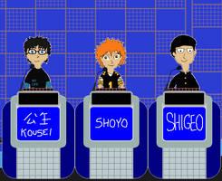 Kousei vs Shoyo vs Shigeo on Jeopardy, 1991