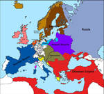 The Empire of Louis XV (the Grand Dauphin): Europe