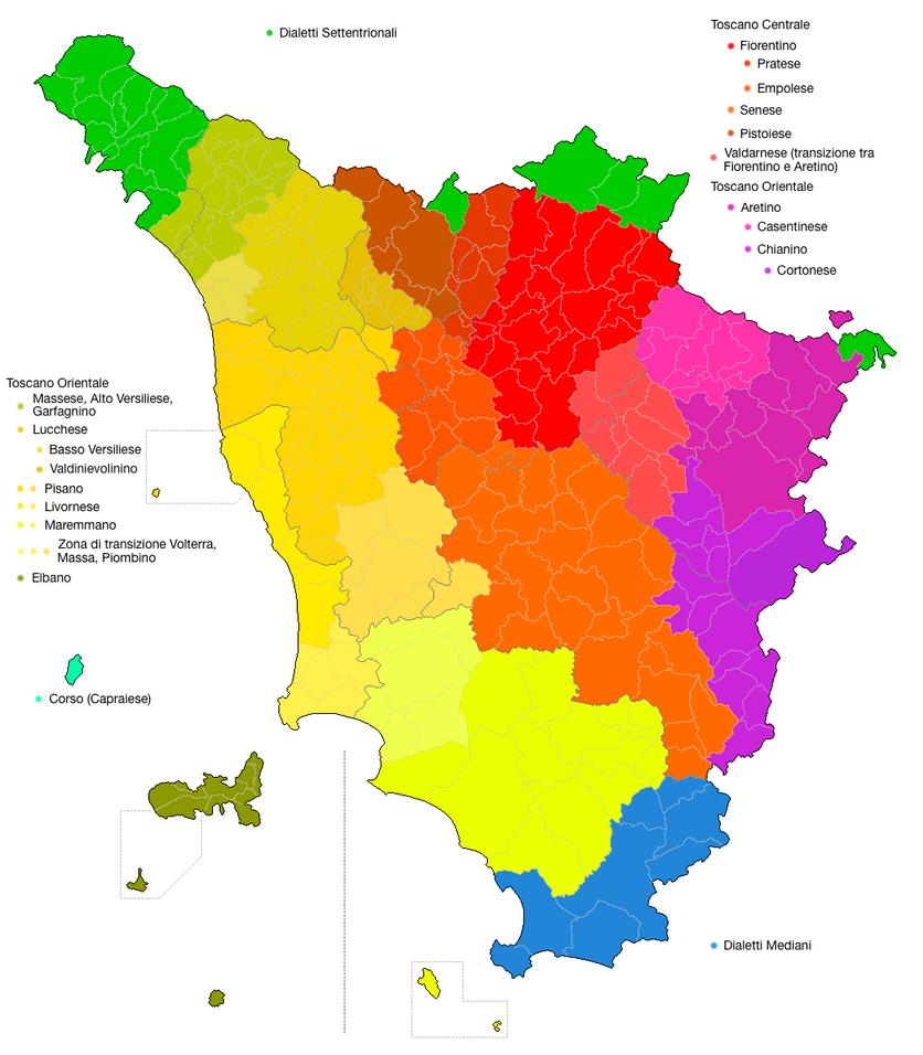 Toscana Linguistica by LoreC10