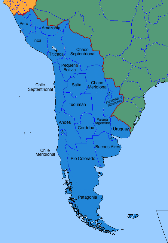 United Provinces of Greater Argentina by LoreC10 on DeviantArt