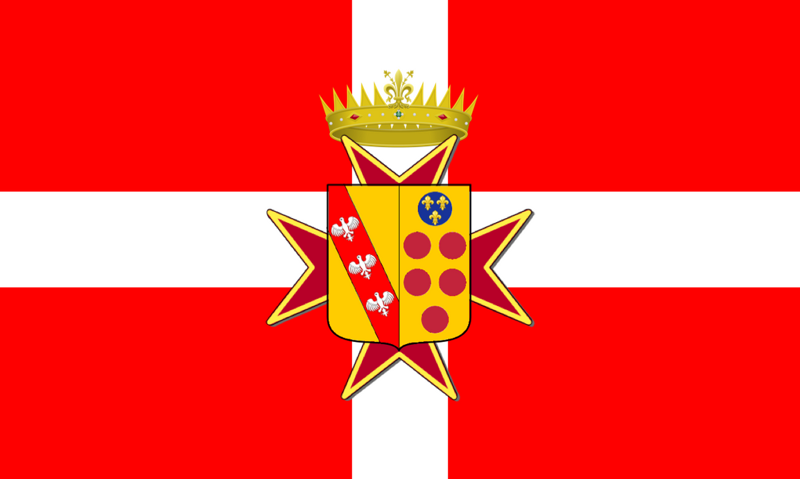 Alt. Flag for Tuscany (Medici + Lorraine) by LoreC10
