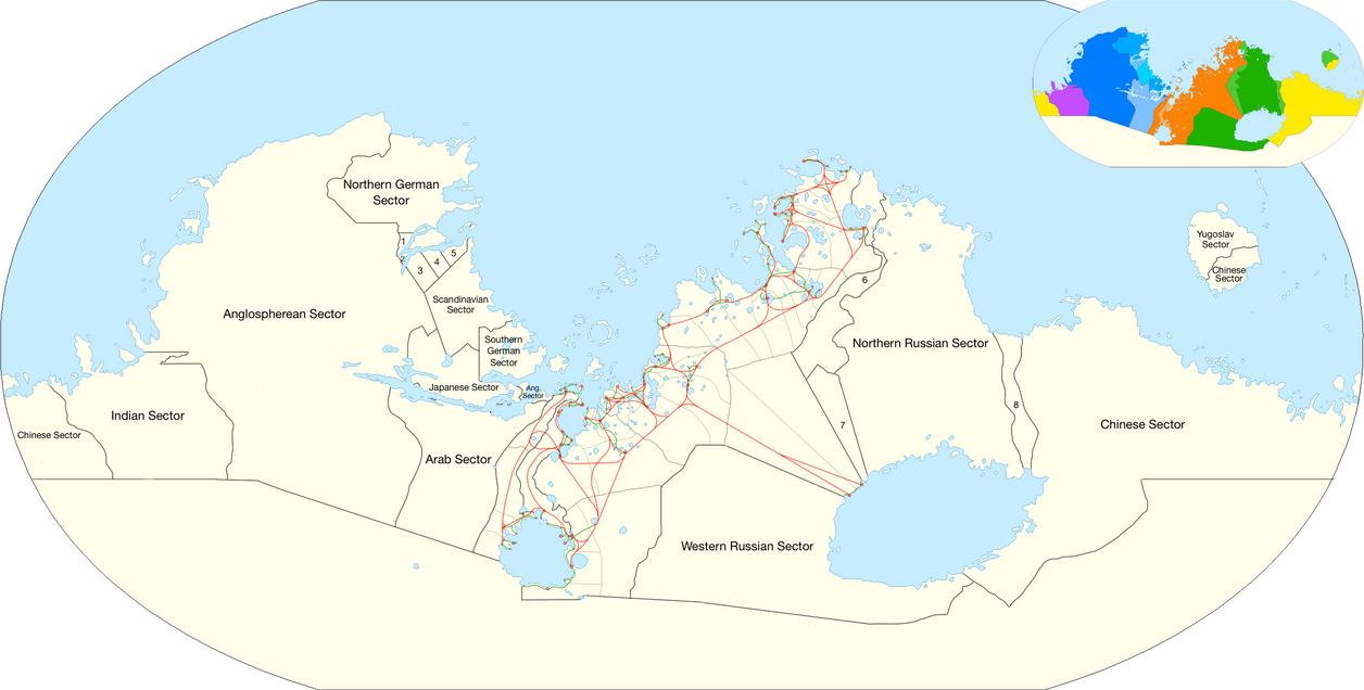 Panlatin Sector (no toponyms) - Terraformed Mars by LoreC10