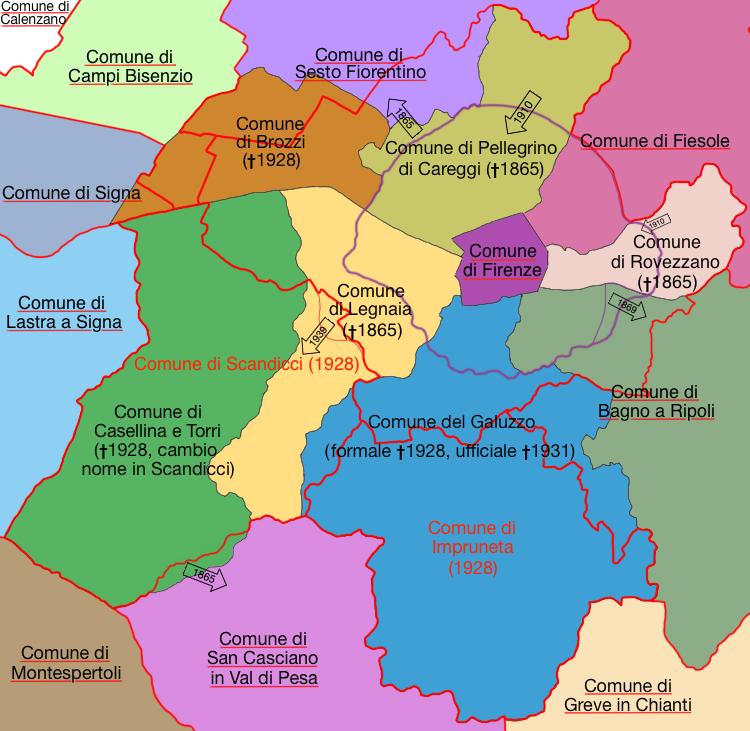 Storia amministrativa del comune di Firenze (mix) by LoreC10 on ...