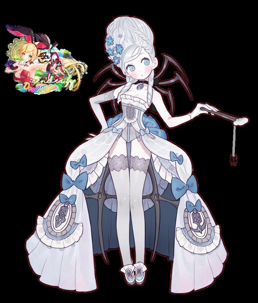 Render Spider - Blue Sweet Lady by DooLoTruu