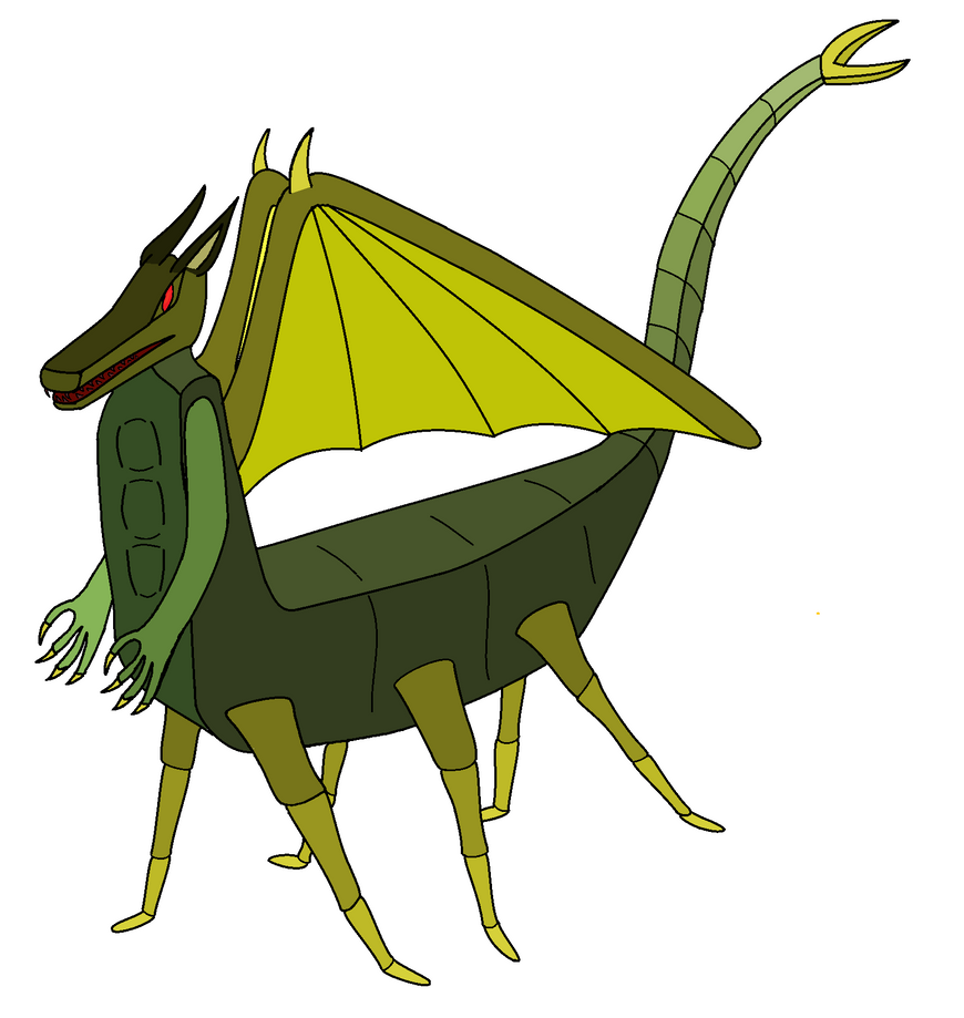 Six Legged Dragon Color by paligax on DeviantArt
