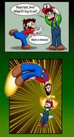 Green Mario by ErnestoGP