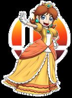 Daisy in Smash! by ErnestoGP