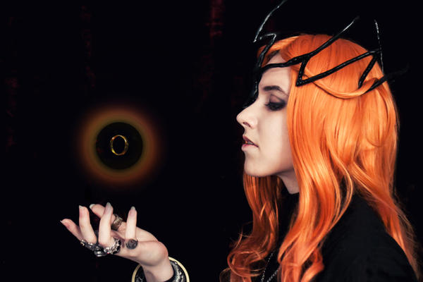Bonus: Sauron and The One Ring by the-ALEF