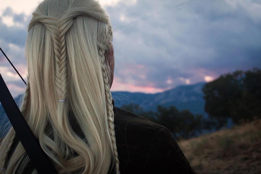 Legolas. Elven bowman. (cosplay) by the-ALEF