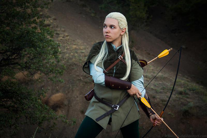 Legolas. Elven bowman. (cosplay) by the-ALEF on DeviantArt