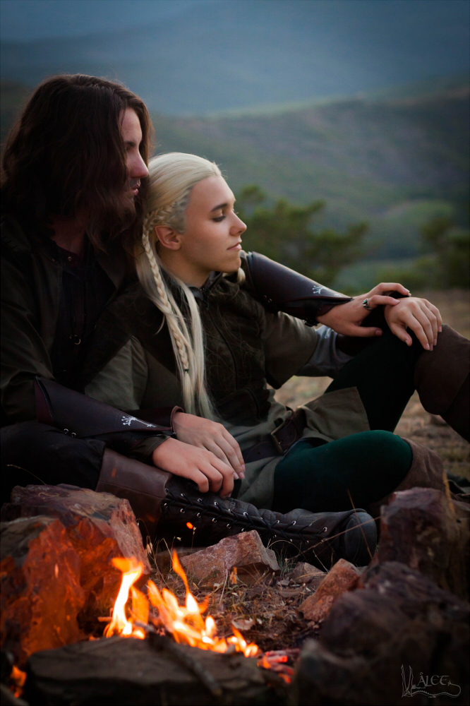The Fire [Aragorn x Legolas cosplay] by the-ALEF on DeviantArt X 23 Cosplay Wallpaper