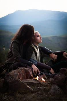 The Fire [Aragorn x Legolas cosplay]