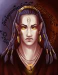 Numenorean form of Sauron (Annatar)