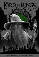 LOTR book cover (The Fellowship of The Ring) by the-ALEF