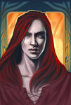 The Tempered Steel cover. Maedhros