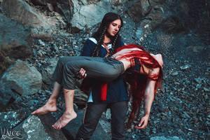 Rescue of Maedhros from Thangorodrim by the-ALEF