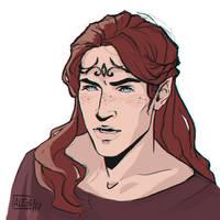 Maedhros The Tall by the-ALEF