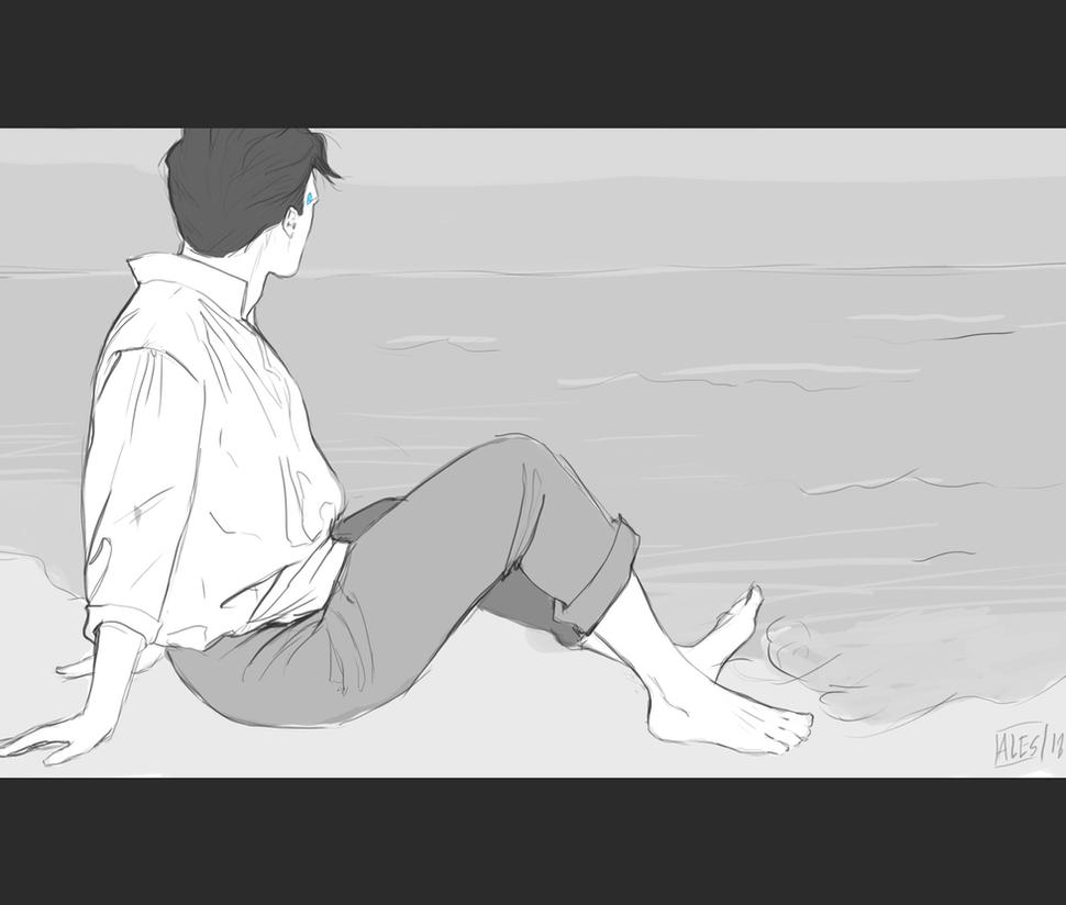 Connor rk800 by the-ALEF
