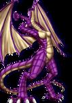 Nova's dragon transformation (PNG)