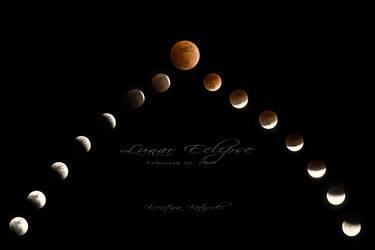 Lunar Eclipse by hellfirediva