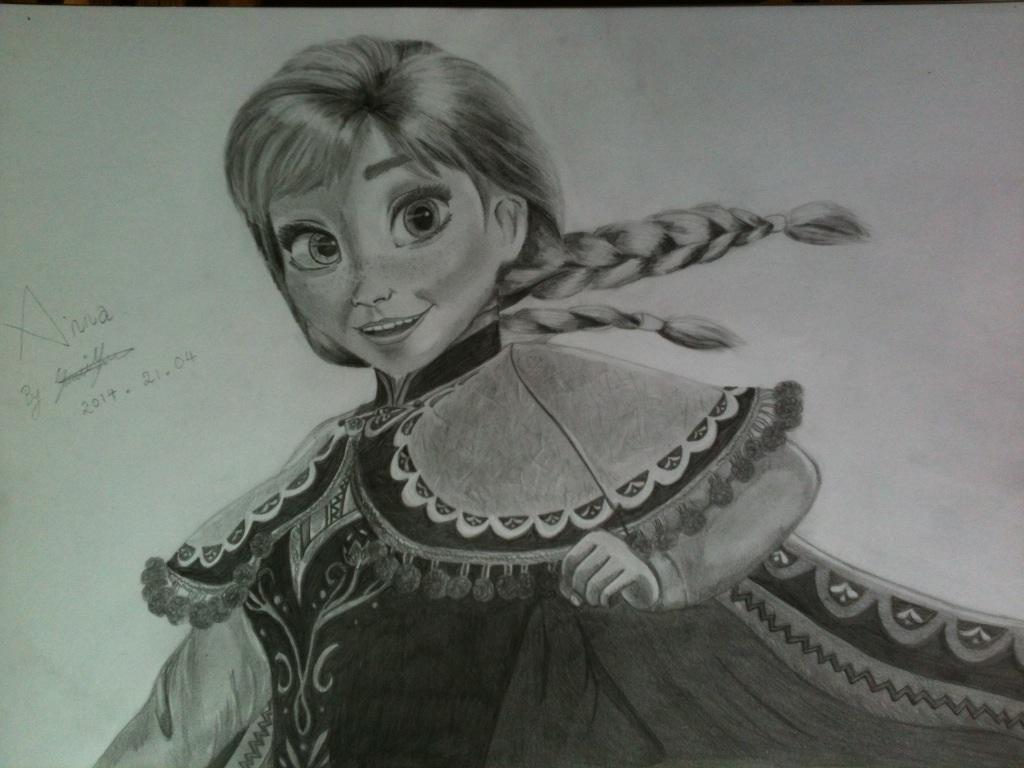 Anna Frozen by aino-tenshi