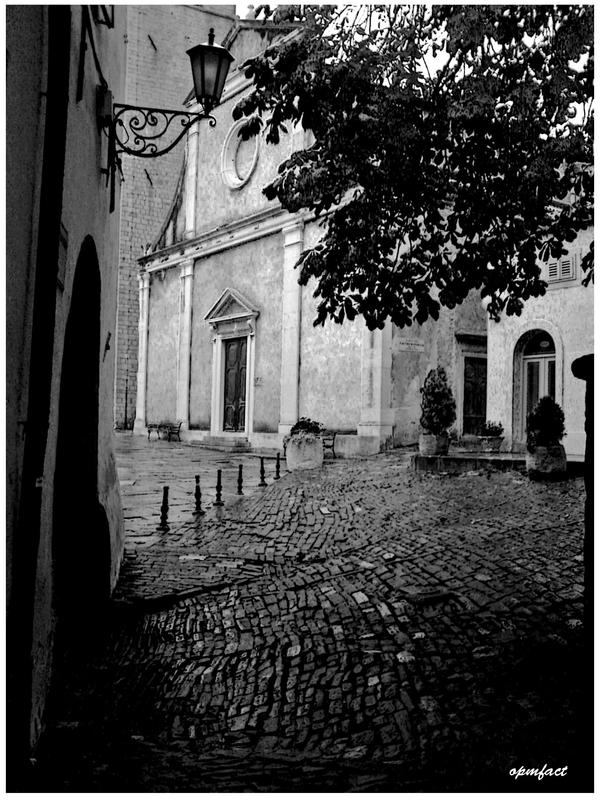 Streets of Motovun by opmfact