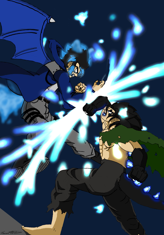 Hotaru vs. King