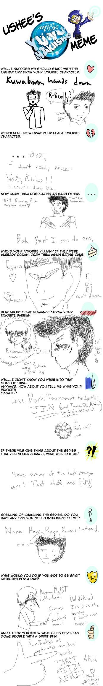 Yu Yu Hakusho Meme - FILLED by RizuKomesu