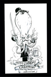 An Octopus Gentleman for Kirby