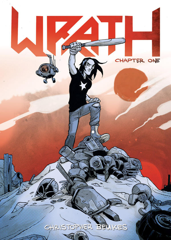Wrath Issue 1 Cover by razor-rabbit