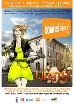 Open Book Comics Fest Mashup