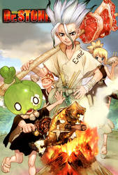 Dr. Stone 22 Color Cleaning Written by Ulquiorra90