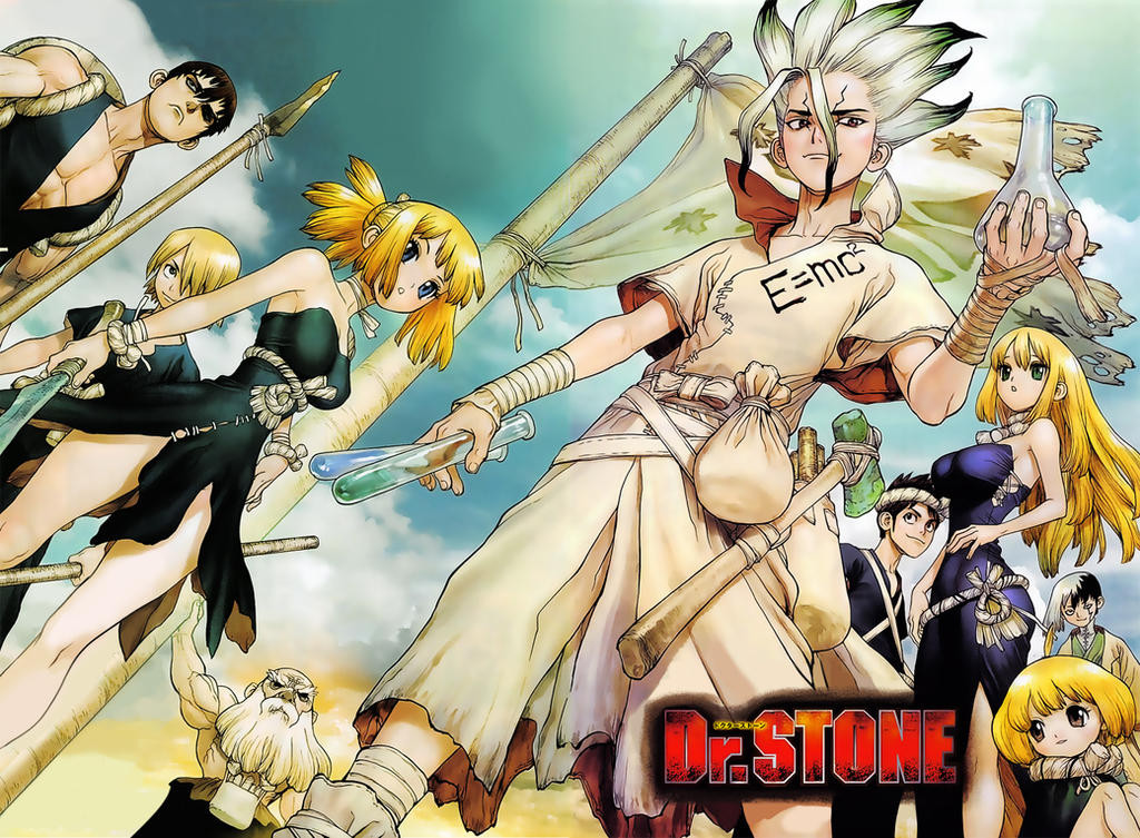 Dr. Stone 40 Color Cleaning Written by Ulquiorra90