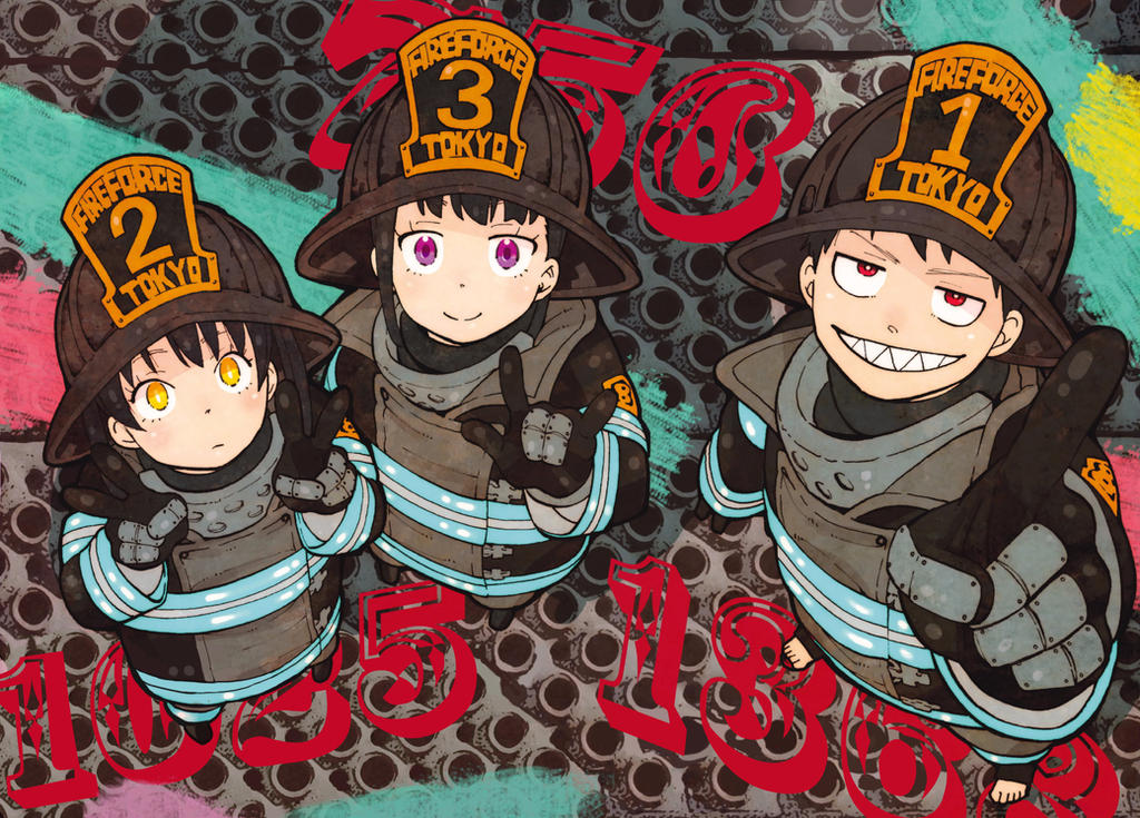 Fire Force 98 Color Cleaning Written by Ulquiorra90